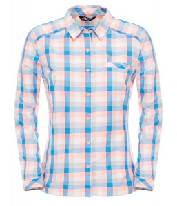Koszula Damska The North Face Zion Shirt neon peach plaid S