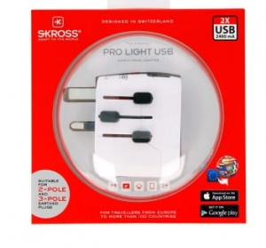 Adapter Skross Pro Light USB