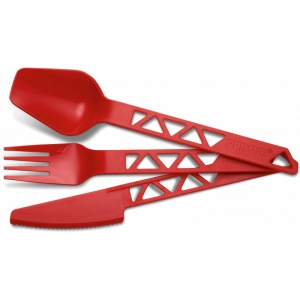 Sztućce Primus Lightweight TRAILCUTLERY barn red