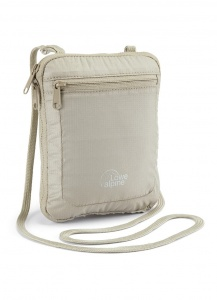 Saszetka Lowe Alpine Passport Wallet Plus beige