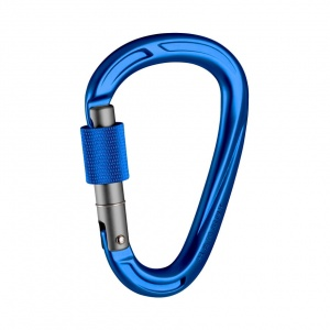Karabinek Mammut CRAG HMS screw gate ultramarine