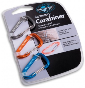 Accessory Carabiner Set 3 Pack Sea To Summit