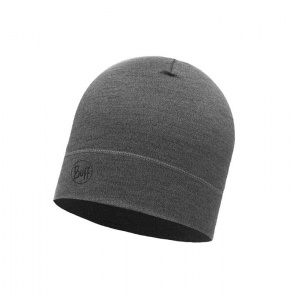 Czapka Buff WOOL HAT MID light grey melange
