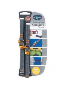 Troki Sea To Summit Accesory Strap With Hook 10 mm yellow 1 m