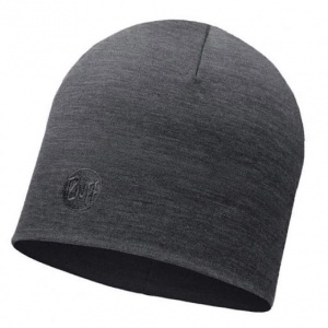 Czapka Buff WOOL HEAVY HAT solid grey