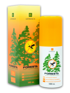 Środek na komary LeFrosh Foresta Atomizer 100ml Deet 30%