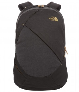 Plecak damskie The North Face Isabella tnf black heather/rose gold