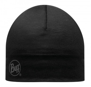 Czapka Buff WOOL HAT LIGHT black
