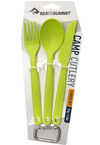 Niezbędnik Sea To Summit Camp Cutlery Set lime