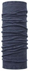 Chusta Buff  MERINO WOOL LIGHT edgy denim