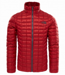Kurtka Męska The North Face Thermoball Full Zip cardinal red