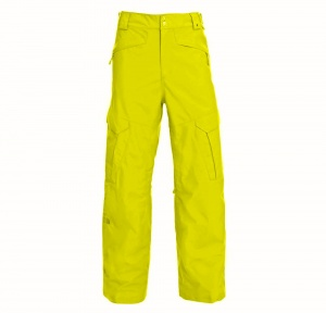 Spodnie The North Face Męskie Monte Cargo Pant energy yellow L (żółte)