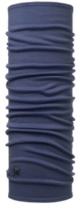 Chusta Buff  MERINO WOOL MID solid estate blue