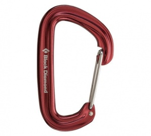 Karabinek Black Diamond Neutrino Wire Gate red