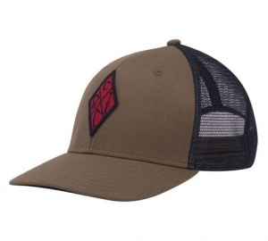 Czapka Tirówka Black Diamond Trucker Hat captain-redwood