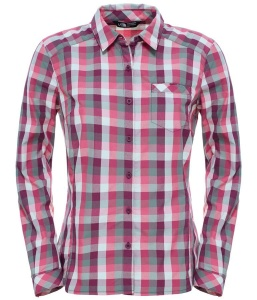 Koszula Damska The North Face Zion Shirt pamplona purple plaid XS