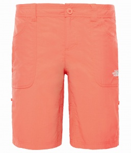 Spodenki Damskie The North Face Horizon Sunnyside juicy red