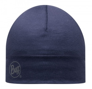 Czapka Buff WOOL HAT solid denim