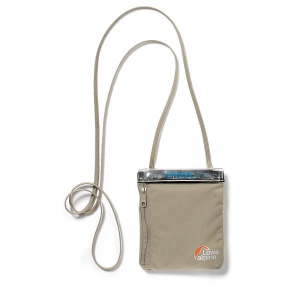 Saszetka Lowe Alpine TT Dry Vertical Passport Carrier beige