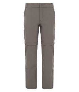 Spodnie Damskie The North Face Exploration Convertible Pant weimaraner brown 10