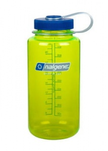 Butelka Nalgene Everyday wide mouth 1L safety yellow