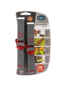 Troki Sea To Summit Accesory Strap With Hook 20 mm red 2 m
