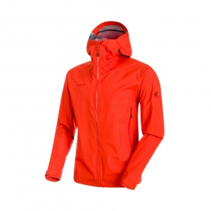 Kurtka Mammut Meron Light Hooded dark orange