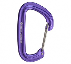 Karabinek Black Diamond Neutrino Wire Gate purple