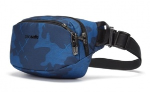 Nerka Pacsafe Vibe 100 Hip Pack blue camo