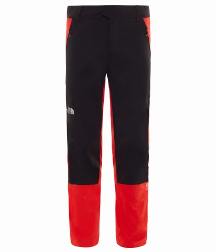 Spodnie Męskie The North Face Summit L1 CLIMB PANT REG fiery red/tnf black