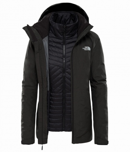 Kurtka Damska The North Face INLUX TRCM black heather/tnf black