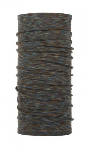 Chusta Buff  MERINO WOOL MID fossil multi stripes