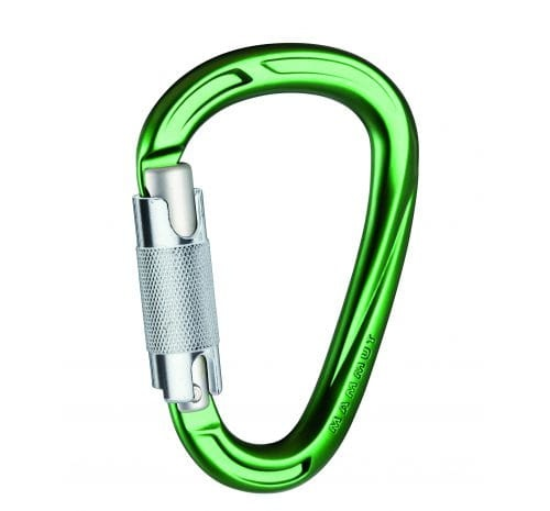 Karabinek Mammut Crag HMS Twistlock Plus green