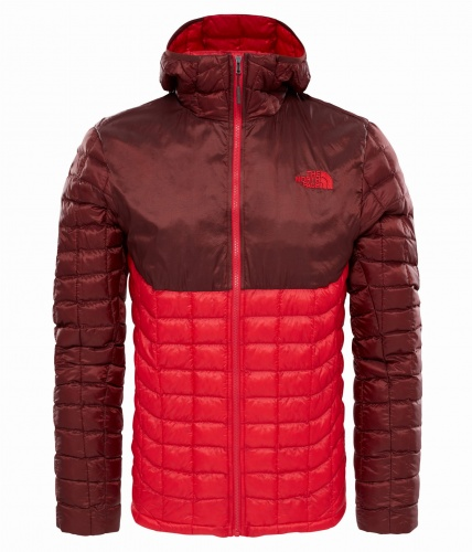 Kurtka Męska The North Face Thermoball HD tnf red/sequoia red