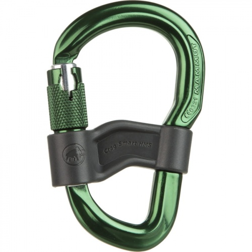 Karabinek Mammut CRAG SMART HMS safety gate green
