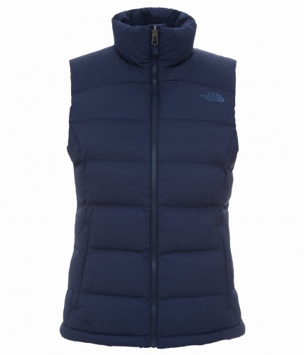 Kamizelka The North Face Damska Nuptse Vest cosmic blue