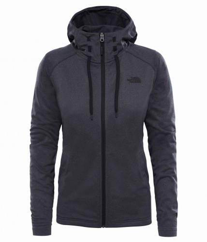 Bluza damska The North Face TECH MEZZALUNA HD dark grey heather/tnf black
