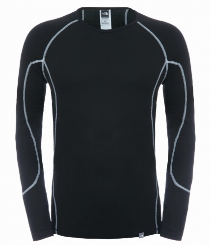 Koszulka Męska The North Face LS Light Crew Neck black
