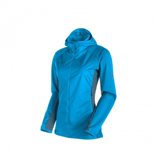 Softshell Damski Mammut KEIKO Light atlantic-orion