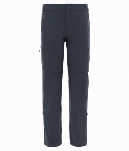 Spodnie Damskie The North Face Exploration Convertible Pant asphalt grey