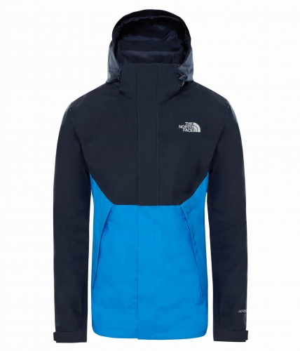 Kurtka Męska The North Face Mountain Light Shell II urban navy/bomber blue