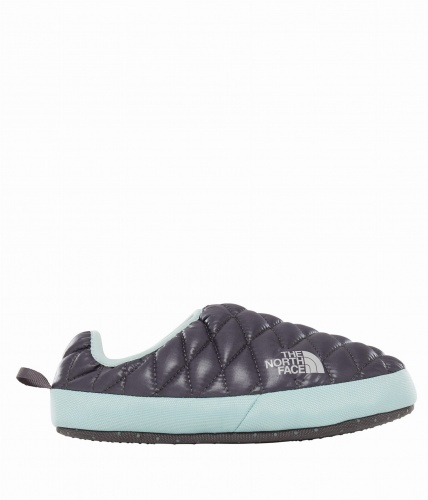 Kapcie Damskie The North Face THERMOBALL TENT MULE IV shiny blackened pearl/blue haze