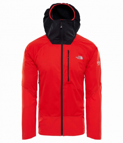 Softshell Męski The North Face SMT L4 WINDSTOPPER red/black S