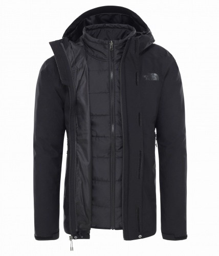 Kurtka Męska The North Face Carto Triclimate tnf black/tnf black