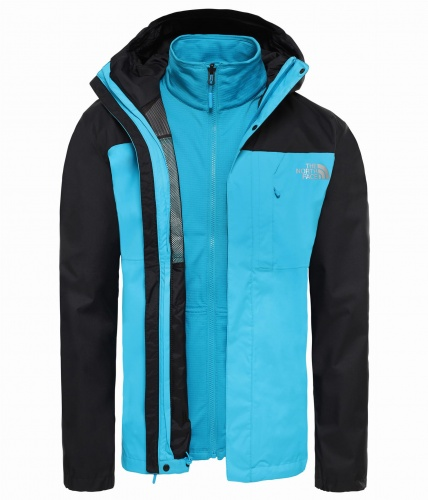 Kurtka Męska The North Face Quest Trcm acoustic blue/tnf black