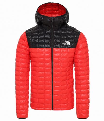 Kurtka Męska The North Face Thermoball Eco HD fiery red/tnf black