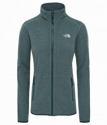 Polar Damski The North Face Glacier FZ pondrosa green/trellis green