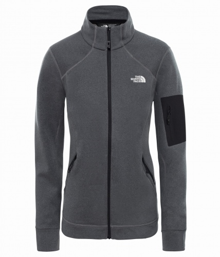 Polar Damski The North Face IMPENDOR PD vanadis grey dark heather