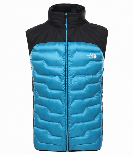 Kamizelka Męska The North Face Impendor Hybrid Down acoustic blue/black