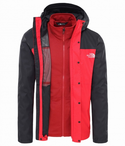 Kurtka Męska The North Face Quest Trcm tnf red/tnf black